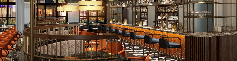 The Parkgate Hotel Bar Detail