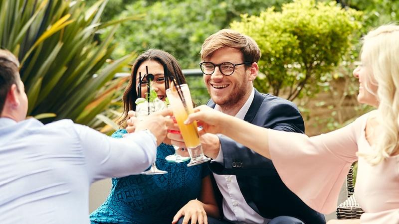 People Drinking Cheers